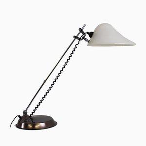 Lámpara de escritorio regulable grande, años 60