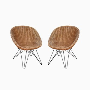 Mid-Century Italian Lounge Chairs, 1970s, Set of 2