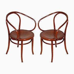 Antike B-9 Stühle aus Bugholz von Jacob & Josef Kohn für Thonet, 1870er, 2er Set