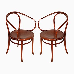 Antique Bentwood B-9 Armchairs by Jacob & Josef Kohn for Thonet, 1870s, Set of 2