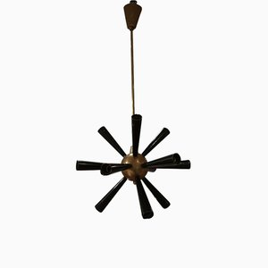 Italienischer Sputnik Kronleuchter von Stilnovo, 1950er