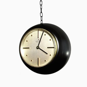 Space Age Hanging Globe Clock from Junghans, 1960s