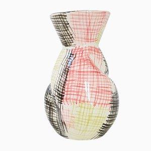 Sarreguemines Promocolor Vase, 1950er