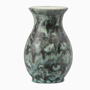 Jarrón de cerámica Fat Lava de Bay Keramik, años 70