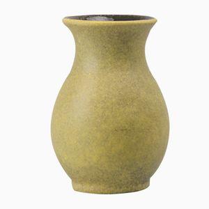 Vaso Fat Lava verde di Bay Keramik, anni '70