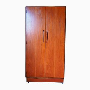 Vintage Two-Door Fresco Wardrobe from G-Plan