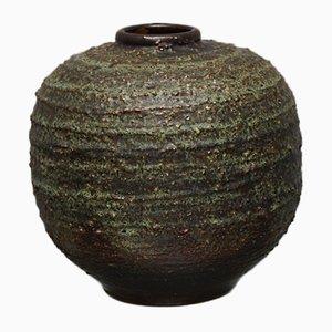 Handgefertigte brutalistische Vase, 1970er