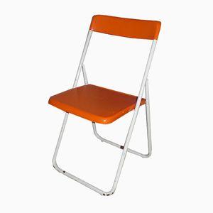 'Chair no 1' Folding Chair by Hans Lindfors for Höganäsmöbler, 1970s