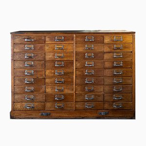 German Pharmacist Cabinet with 36 Drawers, 1930s