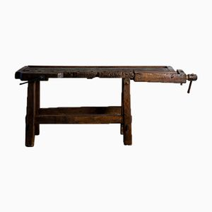 Vintage French Workbench, 1930s