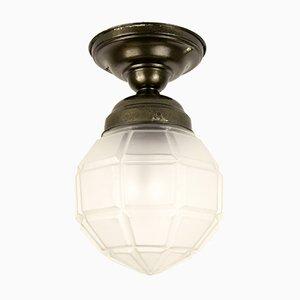 Mid-Century German Geometric Ceiling Light, 1950s