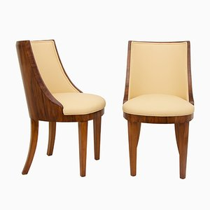 Art Deco Chairs from Hille, 1930s, Set of 2