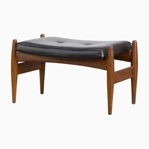 Rosewood and Skai Ottoman, 1960s