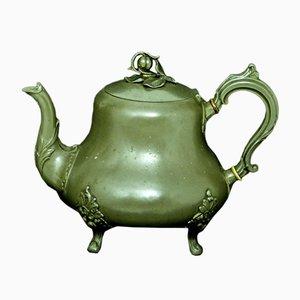 Antike viktorianische Teekanne