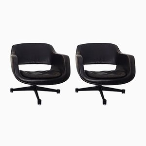 Finnish Swivel Chairs by Eero Aarnio for Asko, 1960s, Set of 2
