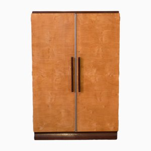 Vintage French Art Deco Cupboard from Mercier Freres, 1930s