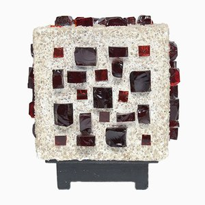 Brutalist Cube Table Lamp, 1960s