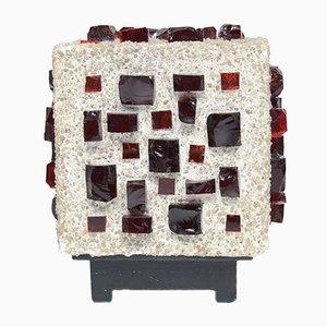 Lampe de Bureau Cube Brutaliste, 1960s