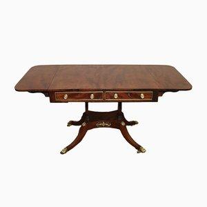 Antique Regency Mahogany Sofa Table, 1810s