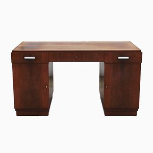 Art Deco Rosewood Desk from Speich Frères, 1930s