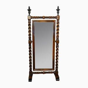 Mahogany Cheval Mirror, 1950s
