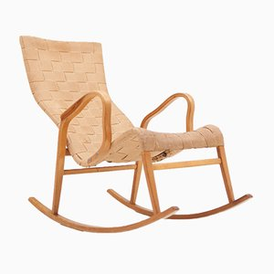 Rocking Chair par Gustaf Axel Berg, Suède, 1950s