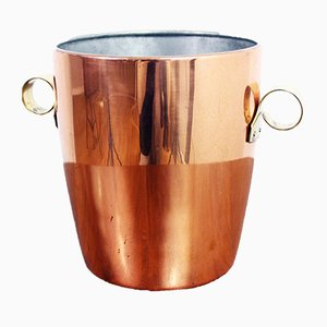 Vintage Swiss Metal Ice Bucket from Sigg, 1960s
