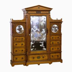 Mobilier de Chambre Antique en Pin
