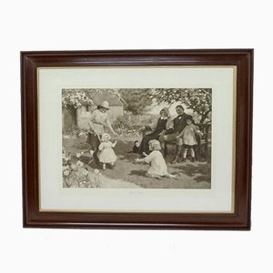 Victorian First Steps Print