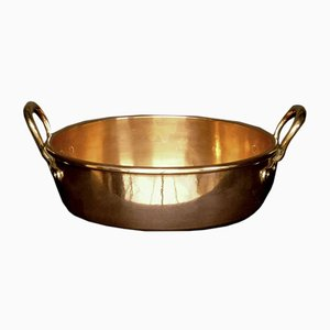 Victorian Copper Bowl
