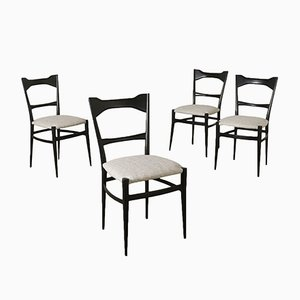 Italienische Vintage Stühle von Andries Van Onck, 1950er, 4er Set