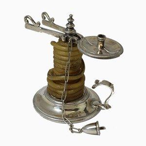 Applicatore per sigilli in cera argentato, 1795
