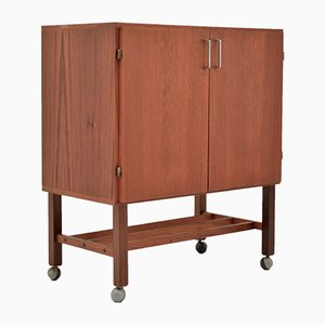 Vintage Media Cabinet on Castors