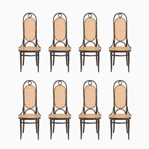 Bentwood Mod. 207R Dining Chairs from Thonet, 1979, Set of 8
