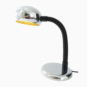 Lampe de Bureau Space Age en Chrome, 1970s