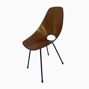 Vintage Medea Stuhl von Vittorio Nobili für Fratelli Tagliabue, 1950er