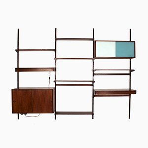 Danish Wall Unit by Kai Kristiansen for Feldballes Møbelfabrik, 1960s