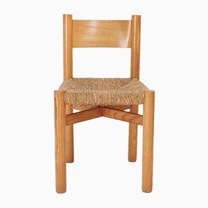 Mid-Century Méribel Stuhl von Charlotte Perriand für Steph Simon