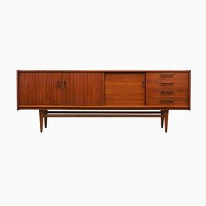 Credenza grande in legno di noce, anni '60