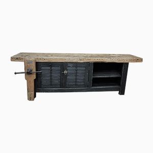 Vintage Industrial Workbench, 1930s