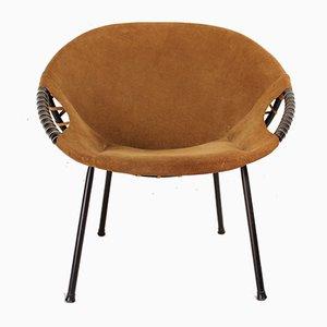 Kreisrunder Vintage Sessel von Lusch & Co