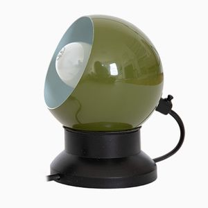 Green Space Age Bubble Lamp by ES Horn Belysning, 1960s