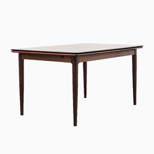 Large Rosewood Extendable Dining Table by Arne Hovmand Olsen for Skovmand & Andersen, 1960s