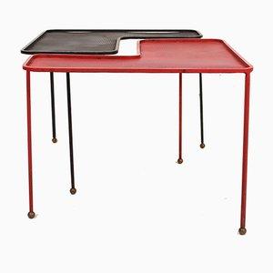 Domino Tische von Mathieu Matégot, 1950er, 2er Set