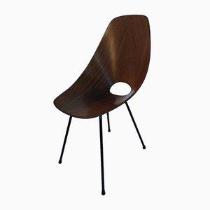 Vintage Medea Chair by Vittorio Nobili for Fratelli Tagliabue, 1950s