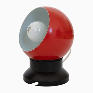 Red Space Age Bubble Lamp from ES Horn Belysning, 1960s