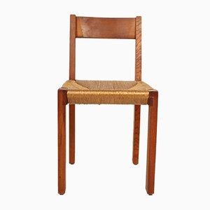 Französischer Mid-Century Modell S24 Stuhl von Pierre Chapo, 1960er