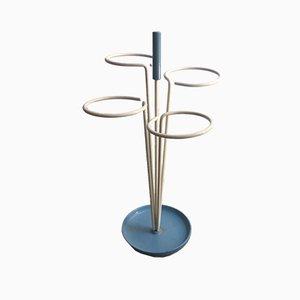 Lackierter Schirmständer aus Metall, 1950er