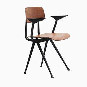 Vintage Result Stuhl mit Armlehnen von Friso Kramer für Galvanitas