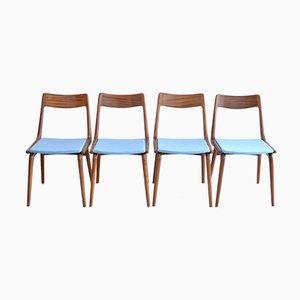 Boomerang Dining Chairs by Erik Christensen for Girsberger, 1963, Set of 4